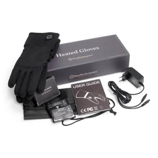 Verwarmde handschoenen THIN - set