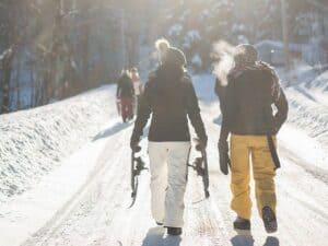 Verwarmde jas winter