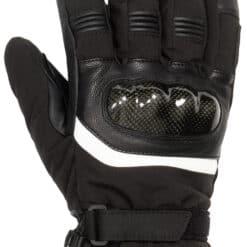 Verwarmde motorhandschoenen - knokkel bescherming